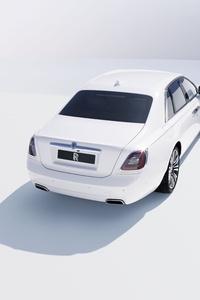 1125x2436 Rolls Royce Ghost 10k