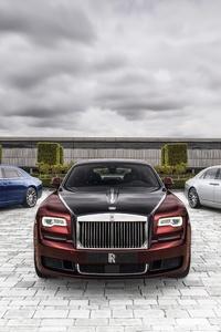 1242x2688 Rolls Royce Ghost Zenith Collection 2019 8k