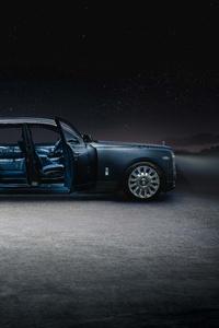 1440x2960 Rolls Royce Phantom EWB Tempus Collection 2021 Side View
