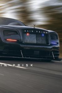 320x480 Rolls Royce Police 4k