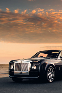 1242x2688 Rolls Royce Sweptail Car