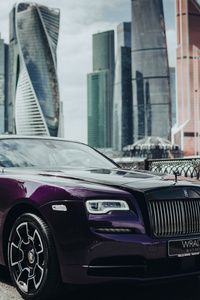 Rolls Royce Wraith Black And Bright 8k