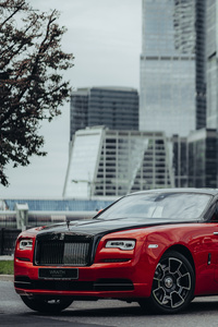 Rolls Royce Wraith Black And Bright
