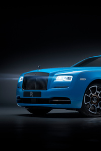 1080x2160 Rolls Royce Wraith Black Badge 2019