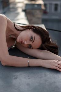 1080x1920 Rooftop Urban Girl