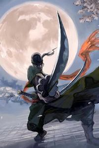 Roronoa Zoro Vs Kanda Yu Battles 4k