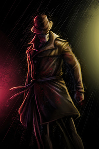 480x854 Rorschach Watchman Artwork 4k