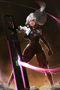 1125x2436 Rose Overwatch Concept Art