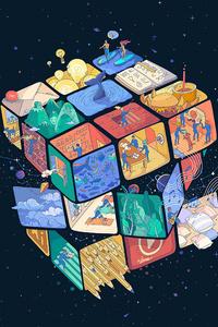 Rubik Cube 5k