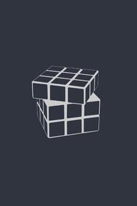 Rubiks Cube Minimalism