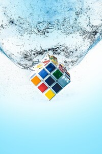 Rubiks Cube Splash
