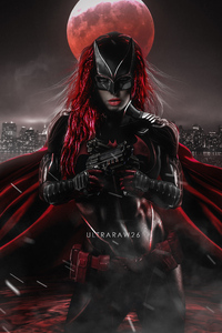 Ruby Rose As Batwoman Artwork