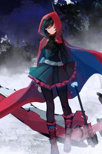 Ruby Rose In Rwby 8k