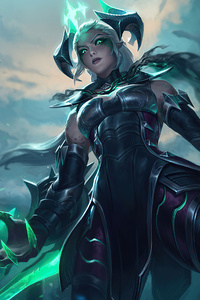 800x1280 Ruined Shyvana League Of Legends 4k