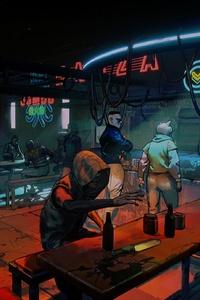 Ruiner Cyberpunk Scifi Artwork