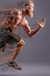 320x480 Running Man