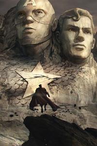 Rushmore Mountain Superheroes