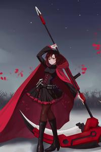 1080x1920 Rwby Anime Girl