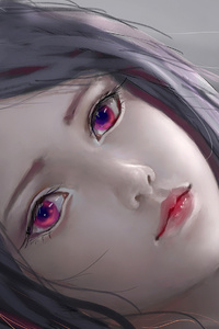 Sad Anime Girl Original