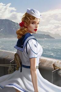 1242x2688 Sailor Girl
