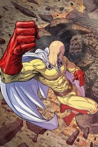 Saitama One Punch Man 4k