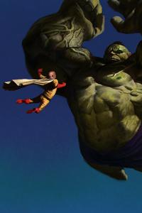 Saitama Vs Hulk