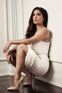 Salma Hayek Evening Standarad