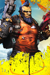 320x480 Salvador Borderlands 2 4k