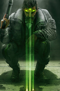 720x1280 Sam Fisher Rainbow Six Siege 4k