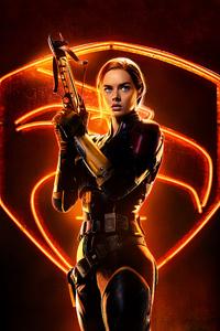 1125x2436 Samara Weaving As Scarlett In Snake Eyes 8k