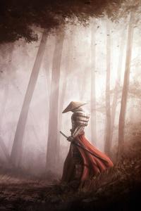 800x1280 Samurai Farewell 4k