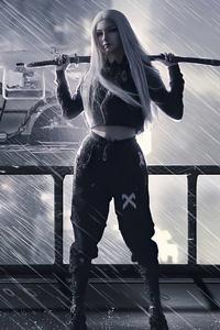 Samurai Girl With Sword 5k