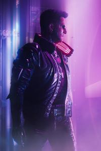 Samurai Man Cyberpunk 2077 4k