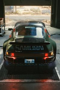 Samurai Porsche Cyberpunk 2077