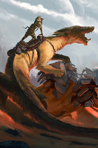 Sand Dragon 4k