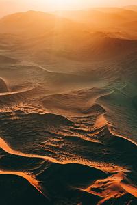 720x1280 Sand Dunes Sunset 5k