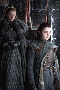 540x960 Sansa And Arya Stark Game Of Thrones Season 7