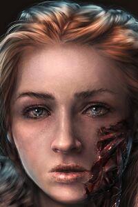 Sansa Stark Art