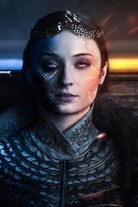 1242x2688 Sansa Stark Got