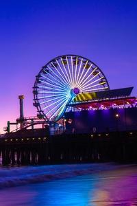 1125x2436 Santa Monica Pier 5k
