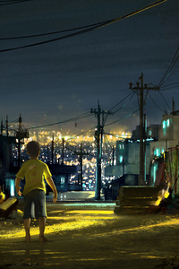 1080x2160 Sao Paulo City 5k