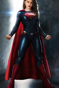 1440x2560 Sashacalle As Supergirl 4k