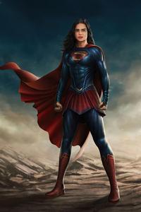 Sashacalle As Supergirl In Flash Movie 4k