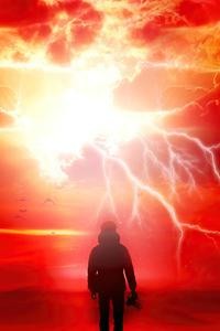 1080x1920 Satan Fall Like Lightning