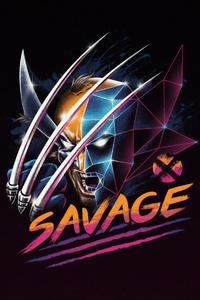 Savage Wolverine 4k