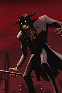 2160x3840 Scarecrow From Batman The Animated Series 4k