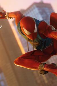 1440x2960 Scarlet Spider In Ps4 Game 4k