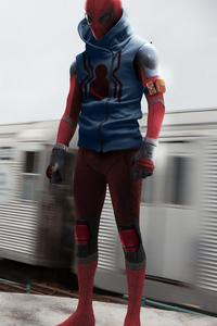 Scarlet Spiderman 4k