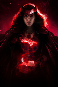 480x800 Scarlet Witch 2020 4k