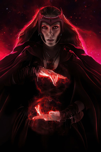 Scarlet Witch 2020 Artwork